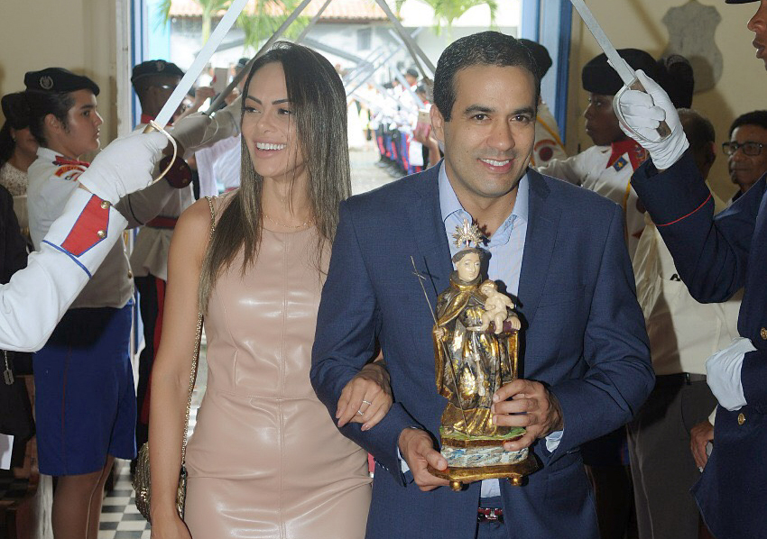 Bruno Reis comemora aniversário com missa na OAF
