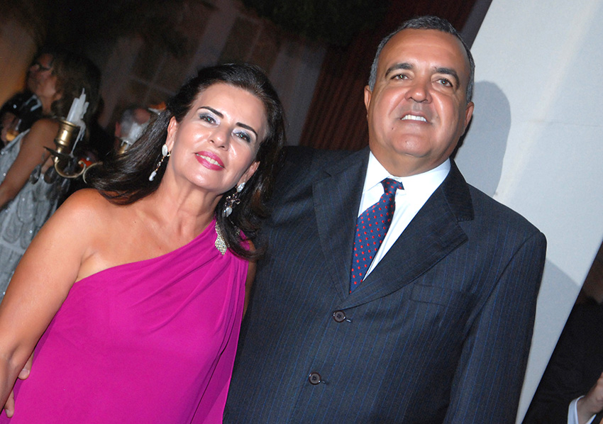 Alice Neves é a aniversariante de hoje, na foto ela está com o esposo Cláudio Neves.