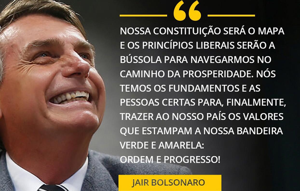 Bolsonaro quebra todos os paradigmas e se elege presidente do Brasil, mesmo sem contar com a imprensa e os artistas.