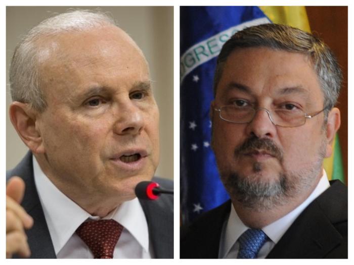 Lava Jato denuncia ex-ministros Guido Mantega e Antonio Palocci nesta sexta-feira(10)