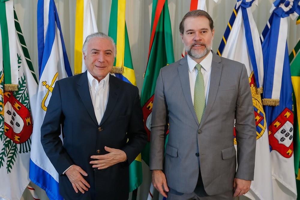 Toffoli assume a presidência do Brasil enquanto Temer viaja para Nova York