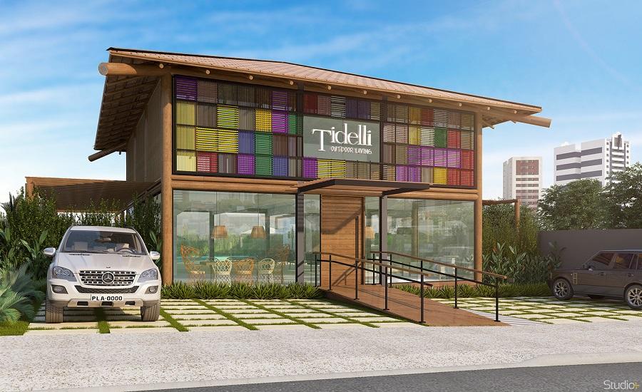 Tidelli abre flagship em Salvador inspirada nas casas de Praia do Forte
