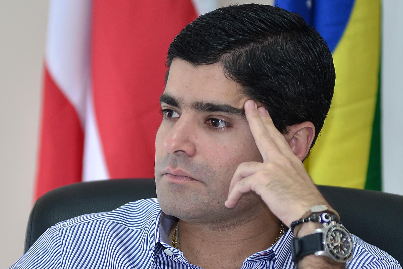 ACM Neto viaja para Brasília para tomar posse no cargo presidente  Nacional do partido DEM