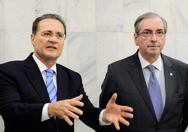 Renan volto a afirmar que Eduardo Cunha continua tendo influência no governo Michel Temer
