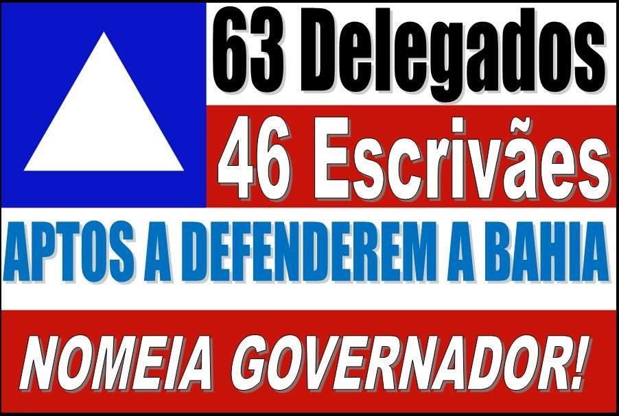 O governador Rui Costa nomeia delegados e escrivães visando melhorar a segurança na Bahia.
