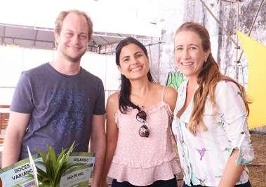 Marcos Venício Machado, Daina Cordeiro e Marcella Lomanto em fotos de valterio