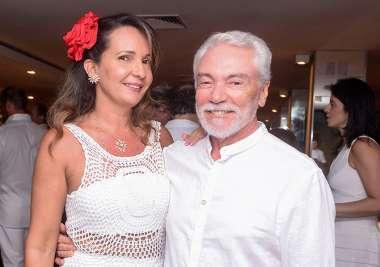 Sida e Dr. João Soares de Almeida em fotos de Valterio Pacheco