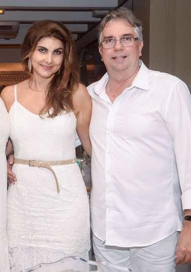 Cristina e Roberto Duran em fotos de Valterio Pacheco