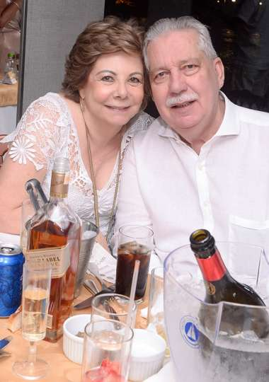 Solange e Nilo Coelho em fotos de Valterio Pacheco