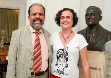Soraya Araújo e Taurino Araújo (Advogado)