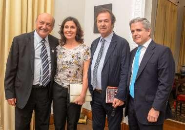 Joaci Góes, Nathalie Viegas(Cônsul de Portugal),Javier Moro(escritor) e Gonzalo Fournier(consul da Espeanha) fotos de Valterio Pacheco