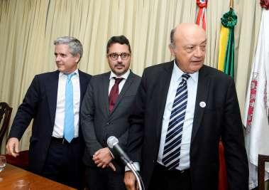 Gonzalo Fournier, Fausto Franco e Joaci Góes em fotos de Valterio Pacheco