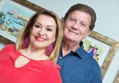 Norma e Alberto Correia em fotos de Valterio Pacheco
