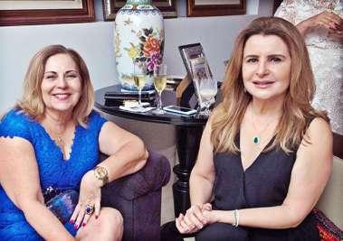 Rita Magalhães e Graça Valadares Amaral em fotos de valterio