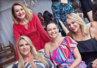 Norma Correia, Soraya Campos, Sabrina Furtado e Verônica Andrade em fotos de Valterio