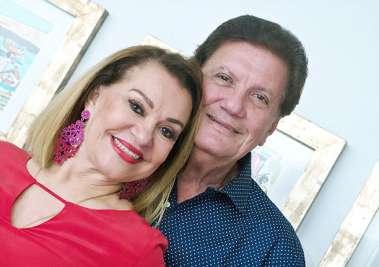 Norma Correia e Alberto Correia em fotos de Valterio Pacheco