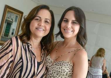Márcia Leal e sua filha Fernanda Pinto em fotos de Valterio