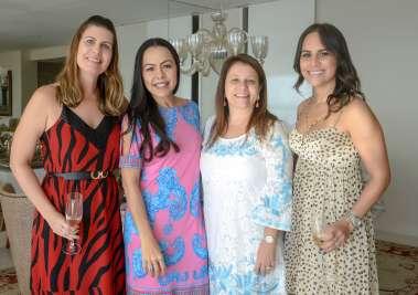 Erica Vaqueiro, Andrea Godenstein, Rosane Romano e Fernanda Pinto( advogadas de um mesmo escritório de advocacia) fotos de Valterio