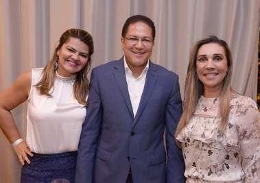 Deputado Augusto Castro e Sra. e Lila Kunz