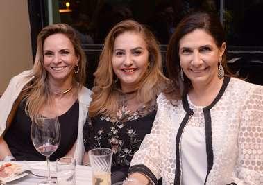 Ângela Freitas, Ivone Nunes e Kaia Tawil,