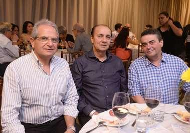 Tony Tawil , Alberto Nunes e Paulo Freitas