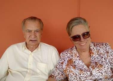 Iêda e ex- governador e ex-senador João Durval Carneiro em de de namoro 12 de junho de 2021