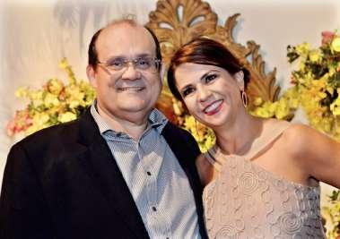 Verônica e Ademar Lemos, ele o dono do Chez Bernard( a culinária francesa em Salvador