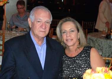 Célia e Milton Tosto no dia dos namorados em fotos de valterio