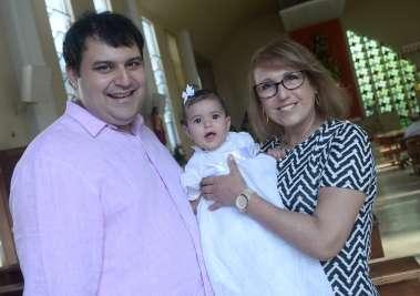 Bruno Varelo, com sua mãe e sua filha Maria Luiza Silva Varelo fotos de Valterio