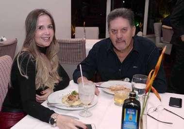 Daniela Fontana e Valson Freire de Carvalho no Alfred Di Roma
