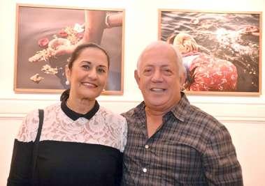 Sandra e Jaime Rangel em fotos de Valterio