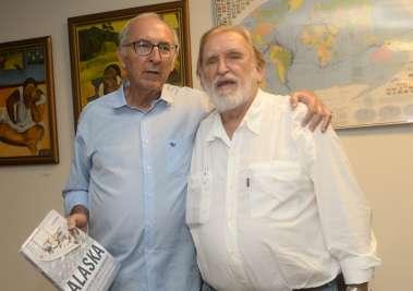 Antonio Lomanto Neto e Aleixo Belov em fotos de Valteiro