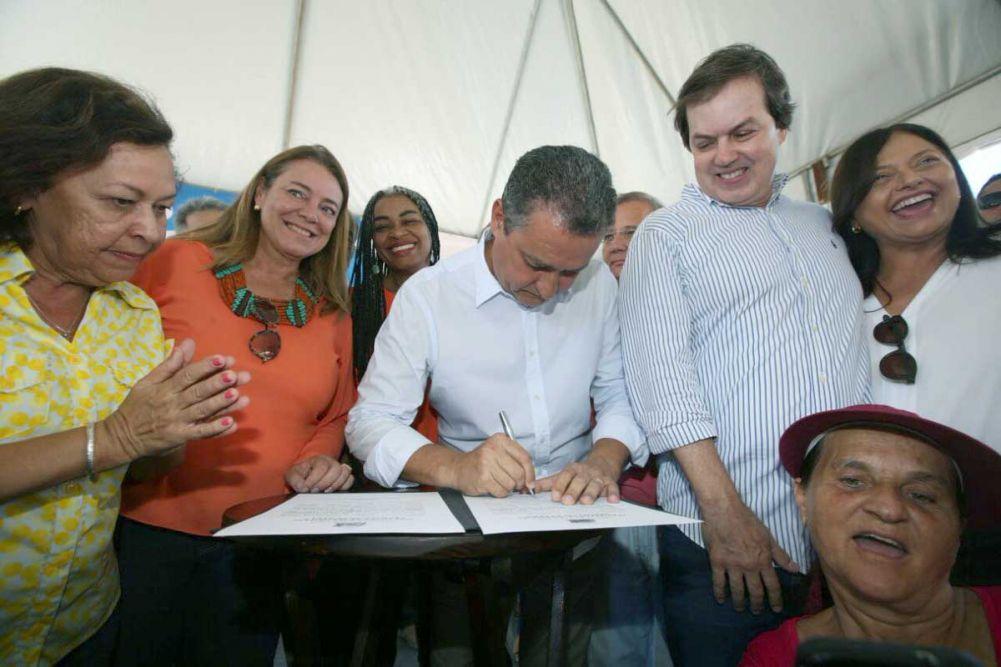 Rui Costa autorizou 2 grades obras o CAPS na Boca do Rio e a Unidade de Saúde Básica no Imbui. Veja as fotos