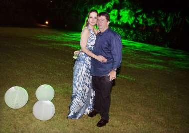 Paulo Vianna e Ana Guiomar os anfitriões