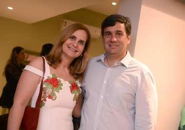 Ingrid com o irmão Marcelo Weckerle