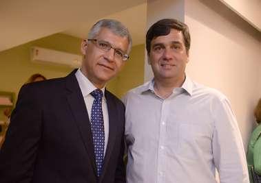 Luiz Sobreira e Marcelo Weckerle