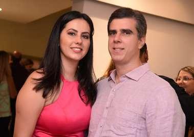 Luciana e Eduardo Souza em fotos de valterio