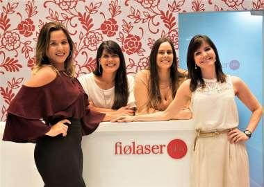 SÓCIAS FIOLASER - Vanessa Seixas Duarte, Perla Lemos, Juliana Albuquerque e Tersila Carvalho