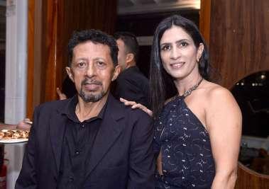Valterio Pacheco e Karina Queiroz a dona do Soho