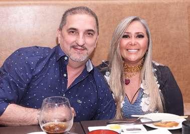 Advogados Helena e Raimundo Cavalcante em fotos de Valterio