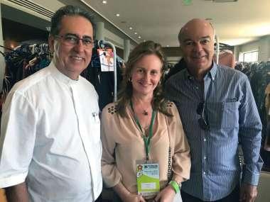 Padre Luiz Simões, Veronica Machado Cunha Guedes e Alex Cunha Guedes
