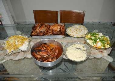 Almoço oferecido a Casa da Criança Carente, por Dr. Eugênio Mendes