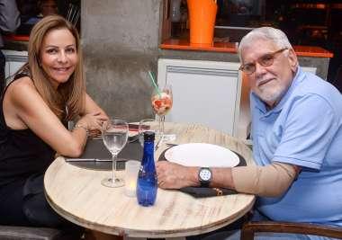 Cristina e Wilson Santos os donos da casa