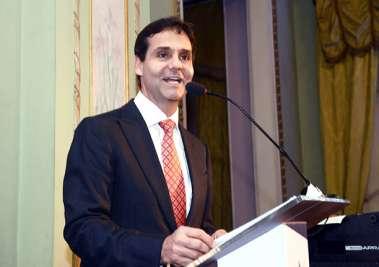 a falação do presidente da ADEMI-BA Cláudio Cunha em fotos de Valterio