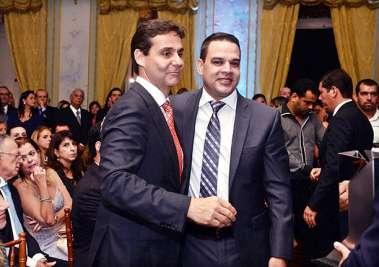 Claudio Cunha presidente da ADEMI-BA e Luiz Pimentel da Queiroz Galvaão em fotos de Valterio