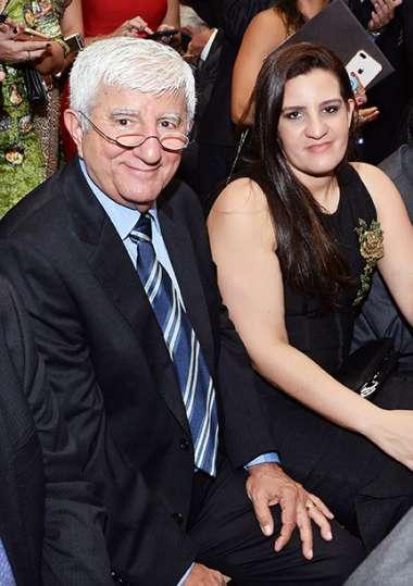 Antonio Caramelo com a filha Camila Caramelo em fotos de Valterio