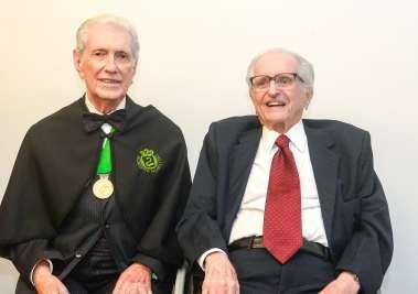 DR. Almério Machado e Prof.Roberto F Santos em fotos de Valterio