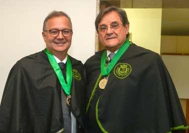 Sec de Saúde Fábio Vilas Boas e Dr. Antonio Carlos Vieira Lopes presidente da Academia de Medicina da Bahia em fotos de Valterio