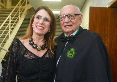 Laudiceia e Dr. Geraldo Leite em fotos de Valterio