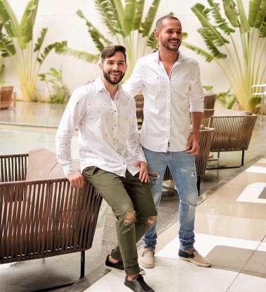 RR - Os arquitetos Marcelo Rocha e Rodrigo Rodrigues (2)